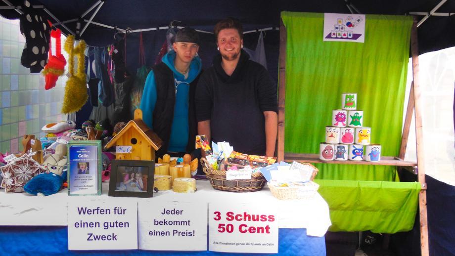 Motivationskurs auf dem Markt der Kulturen in Pirna