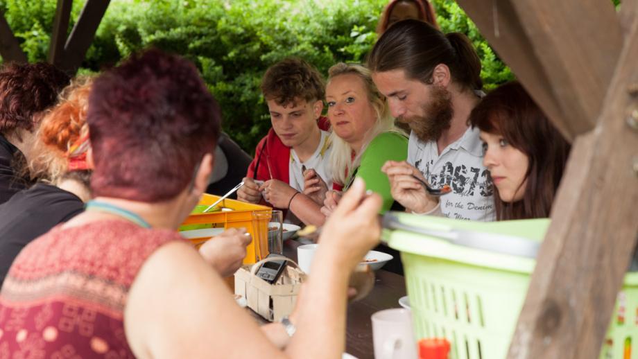 Projektwoche der IGS - selbst gekochtes Mittagessen