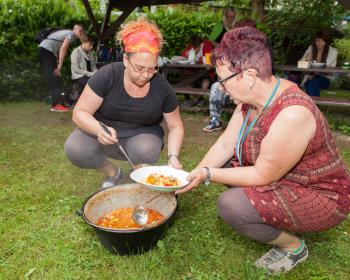 Projektwoche der IGS – Essen aus dem Feuertopf