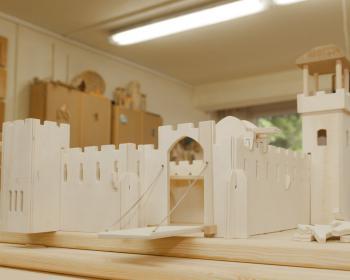 Projektwoche der IGS – Ritterburg aus Holz