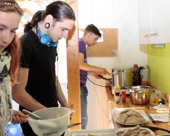Kochduell der IGS-Projekte